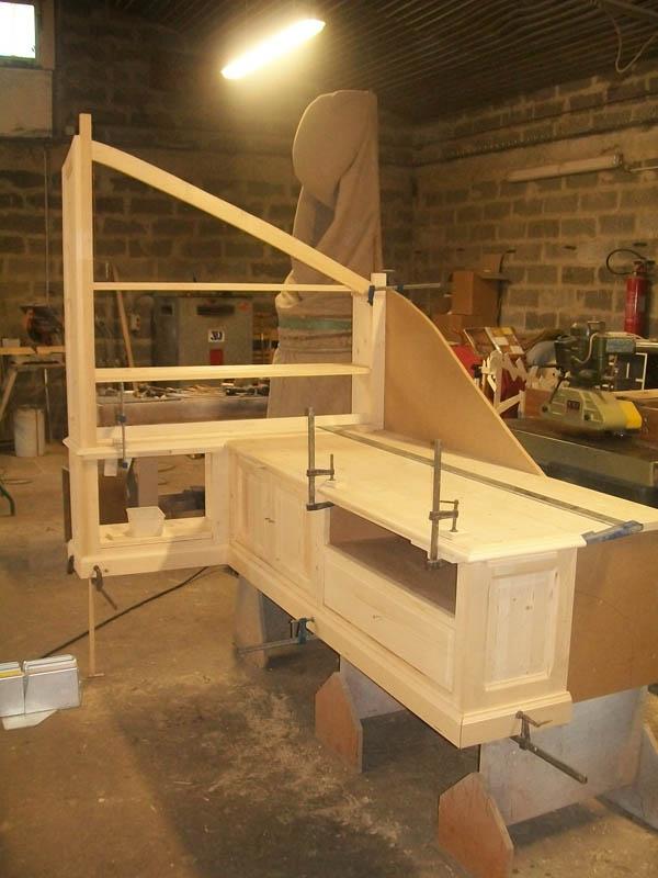 Agencement sous escalier bruno tradition - Escalier rangement integre ...